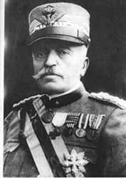 Luigi Cadorna responsabile di guerra nell'anno 1916