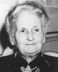 Maria Montessori anno 1907