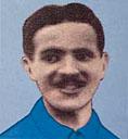 Pietro Lana autore del primo gol della nazionale nell'anno 1910