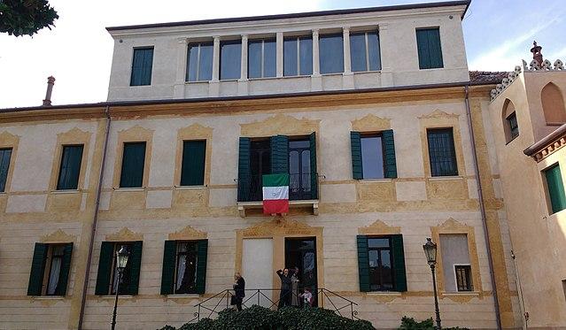 Villa Giusti anno 1918
