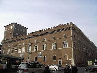 Palazzo Venezia anno 1936