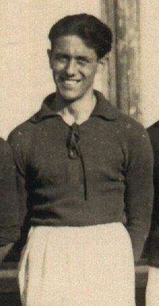 Giuseppe Della Valle capitano del Bologna campione d'Italia anno 1925