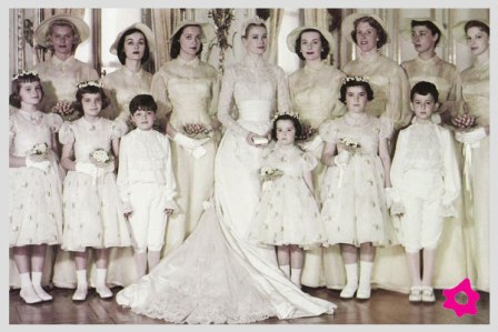 Matrimonio Ranieri&Kelly anno 1956