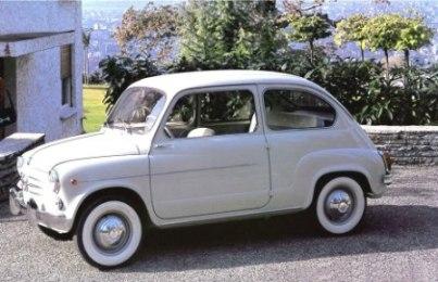 Fiat 600 anno 1957