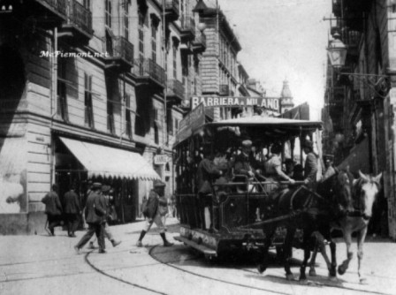 IL TRAM A CAVALLIANNO 1898
