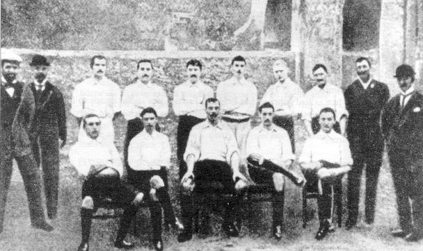 GENOA CAMPIONE D\'ITALIA ANNO 1898