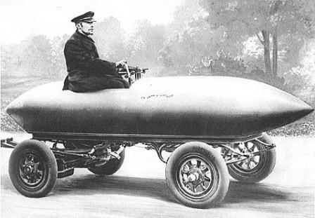 Jamais Contente modello anno 1899