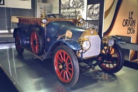 Alfa Torpedo Castagna anno 1910