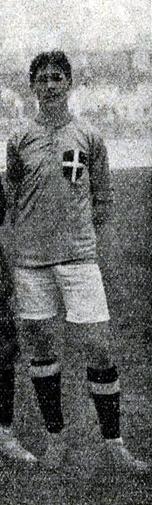 Giuseppe Milano primo Capitano in maglia azzurra