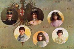 Famiglia Reale anno 1915