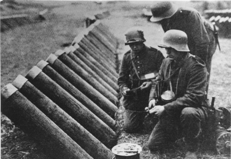 Armi austriache contro Caporetto