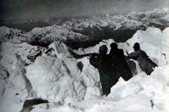 Truppe austro-ungariche sull'Ortles