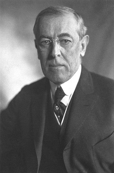 Thomas W. Wilson nobel anno 1919