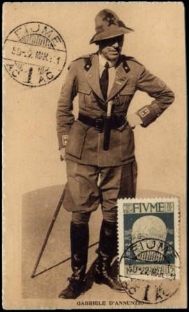 Gabriele D'Annunzio a Fiume