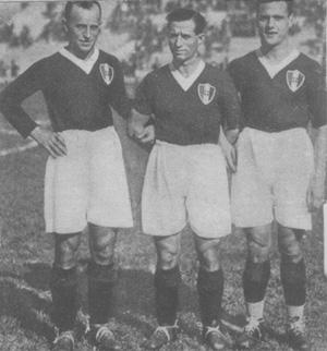 Il trio Baloncieri-Libonatti-Roossetti