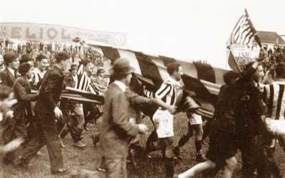 Festeggiamenti Juventus anno 1932