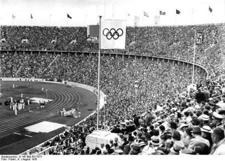 Stadio Olimpico di Berlino, anno 1936
