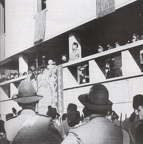 Inaugurazione di Guidonia, anno 1937