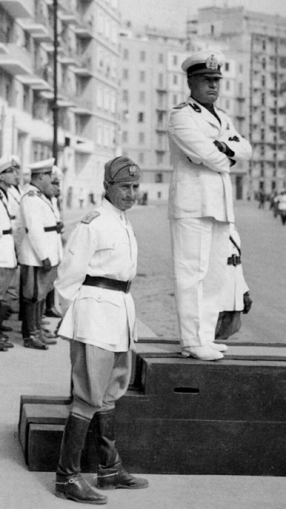 Achille Starace & Benito Mussolini