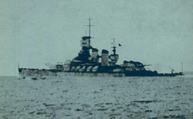 La corazzata Vittorio Veneto