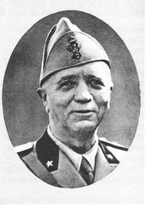 Il Gen. Pietro Badoglio