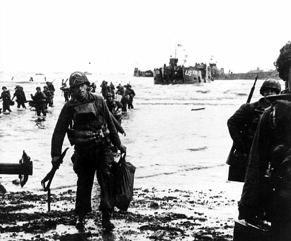 Sbarco in Normandia 6 giugno anno 1944