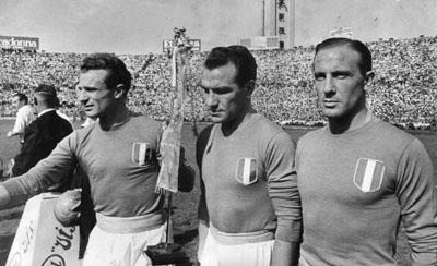Italia-Inghilterra anno 1948