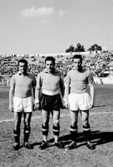 I fratelli Sentimenti con la maglia della Lazio