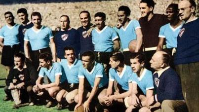 Uruguay Campione dle Mondo anno 1950