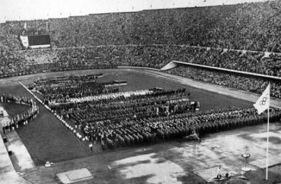 Cerimonia Olimpiadi anno 1952