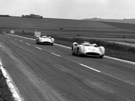 Equipaggio Mercedes anno 1954