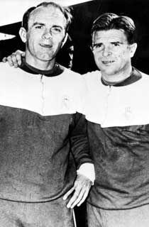 Ferenc Puskas & Alfredo Di Stefano