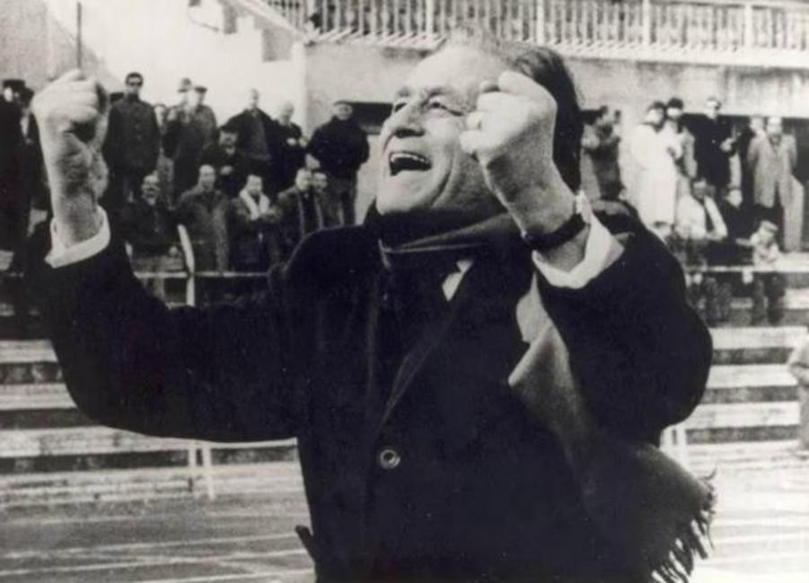 Costantino Rozzi presidente Ascoli 1980