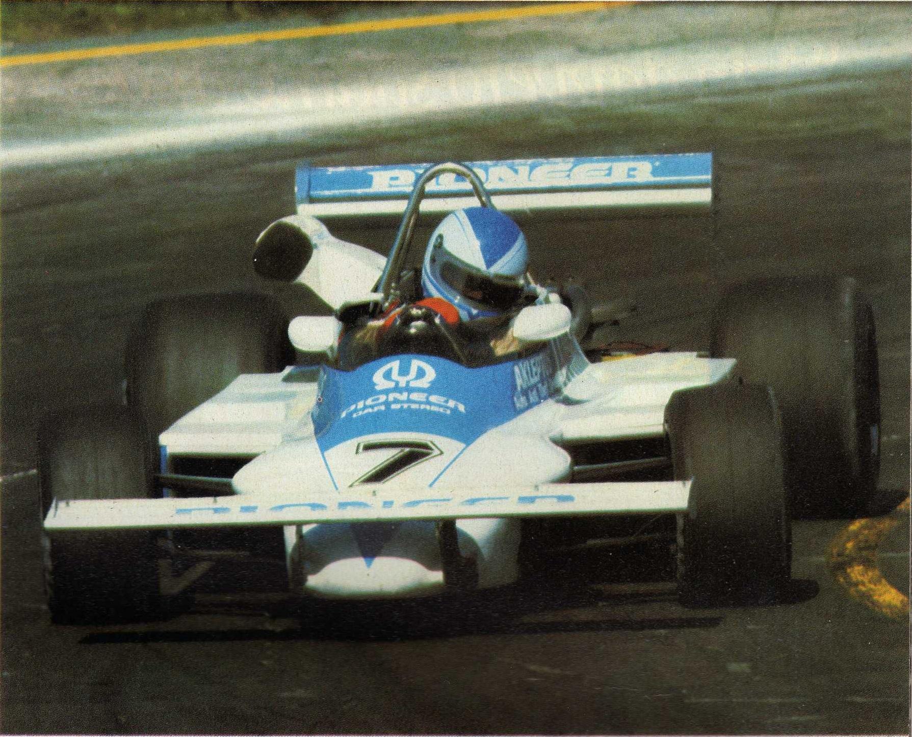 Riccardo Paletti anno 1982