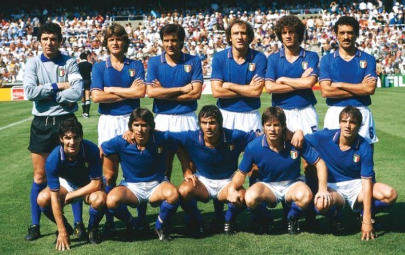 Italia Campione del mondo anno 1982