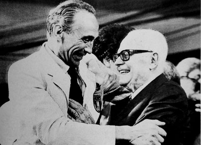 Enzo Bearzot & Sandro Pertini anno 1982