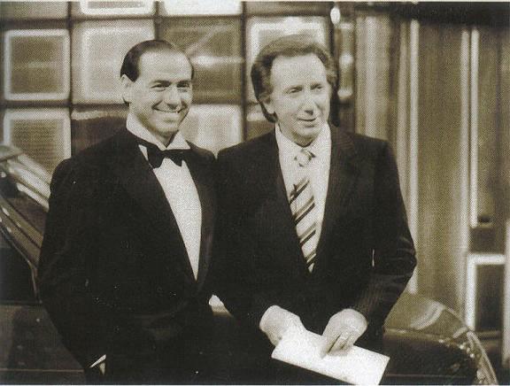 Silvio Berlusconi & Mike Bongiorno