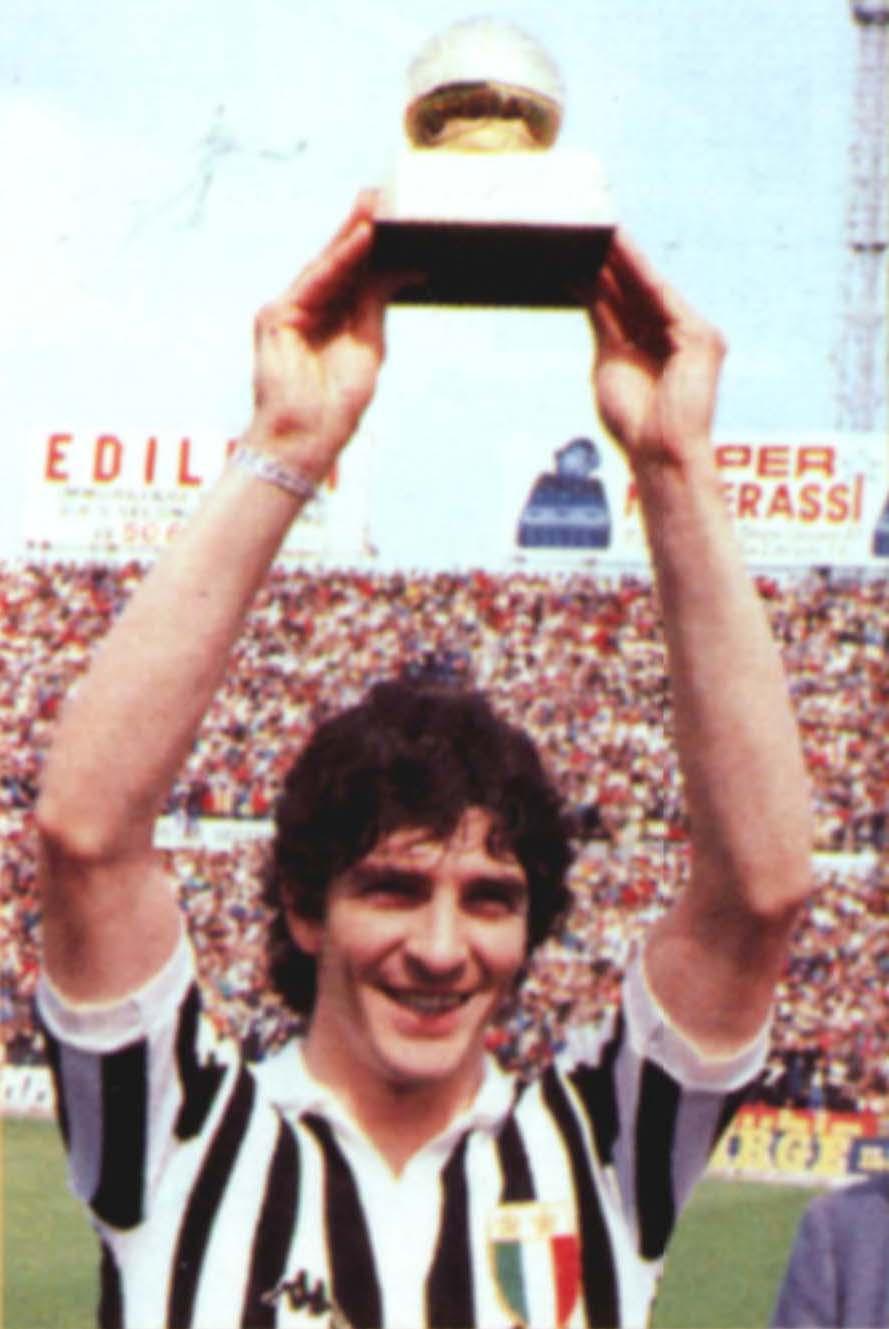 Paolo Rossi pallone d'oro anno 1982