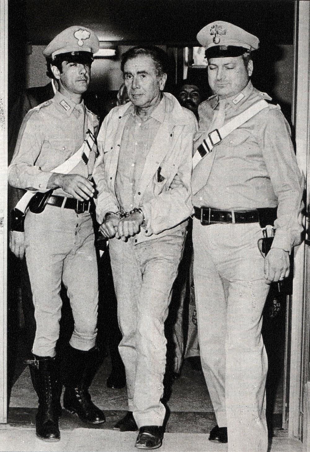 Arresto Enzo Tortora