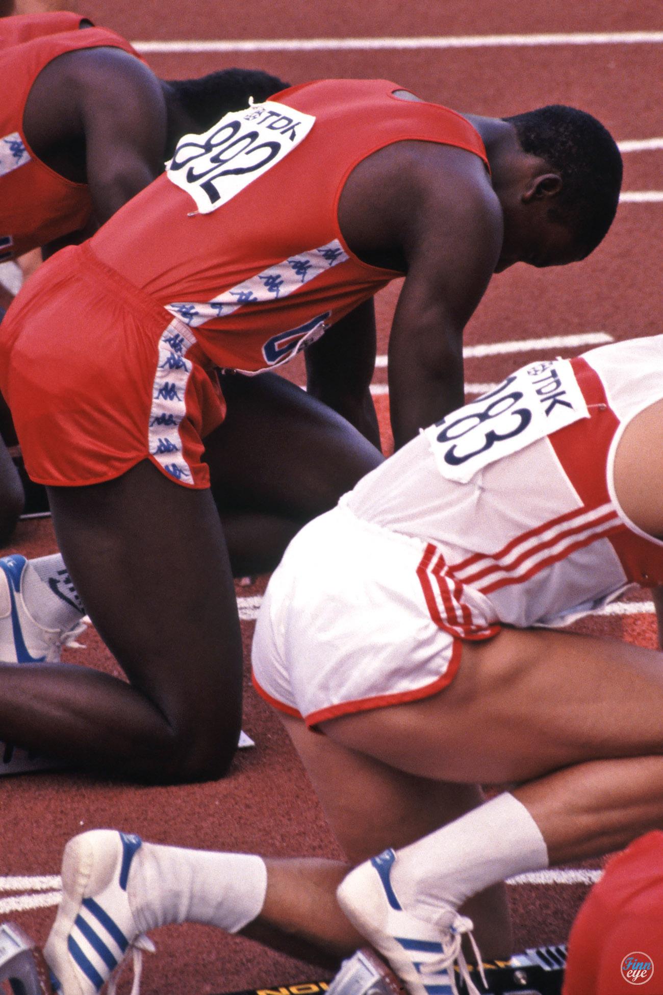 Karl Lewis Olimpiadi anno 1984