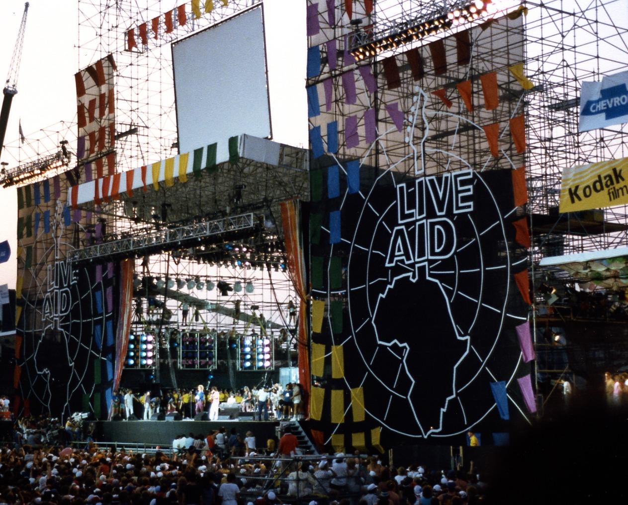 13 giugno anno 1985: Live Aid