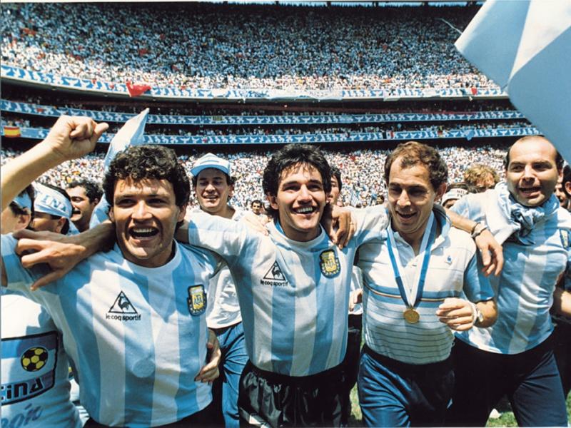 30 giugno anno 1986: Argentina in festa