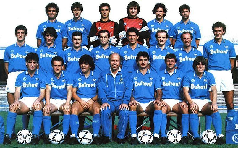 Napoli Campione d'Italia anno 1987