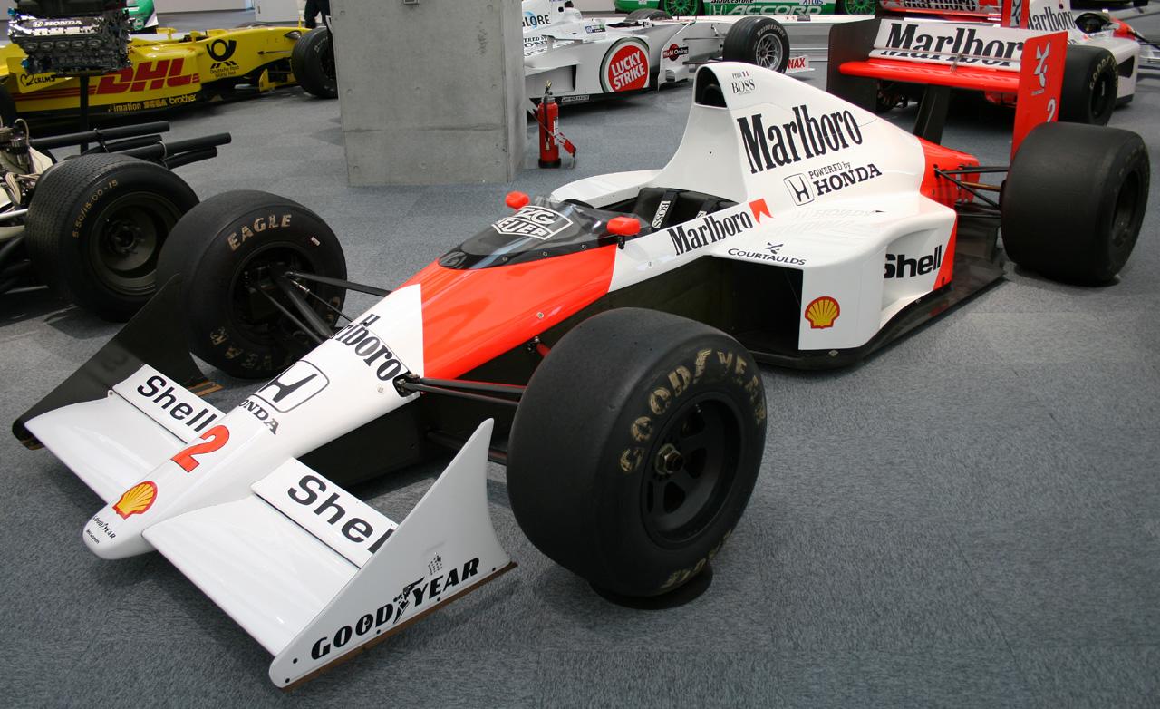 MacLaren Campione del Mondo Formula UNO anno 1989
